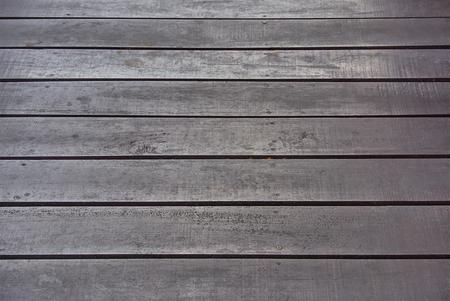 Full Frame Background of Wooden Planks Floor Pattern Imagens