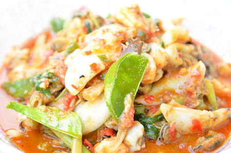 thai food: The spicy thai food