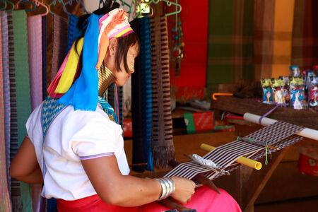 annals: Weave  Karen  in meahongson, thailand Editorial
