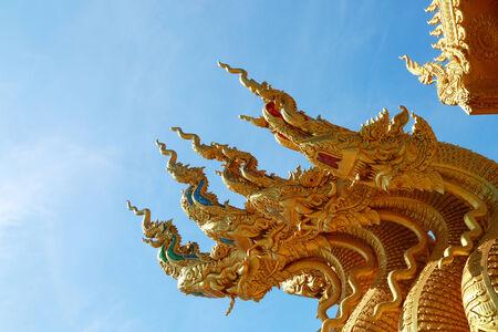 thaiart: religion  mythology  animal  in nan province, thailand
