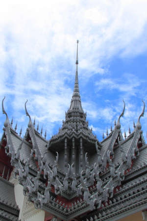 Ancient palace in Bangkok photo