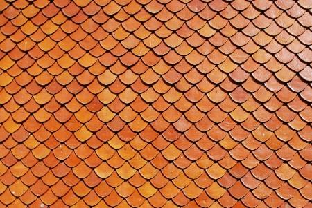 rooftile: tegole, mattoni di colore rosso di sfondo