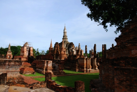 Historic Garden at Sukhothai  photo