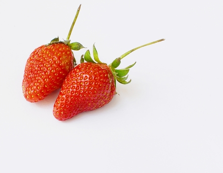 Fresh strawberries  photo
