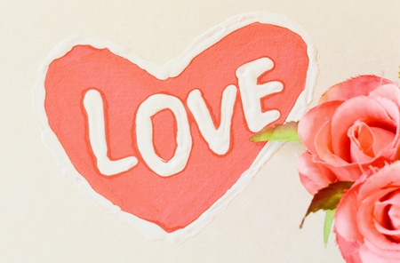 Art paint background  love  photo