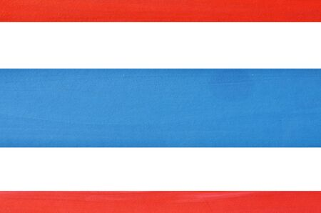 Art paint background  Flag of Thailand  photo