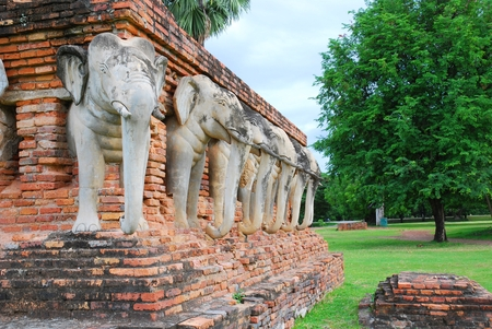 antiquity: Sukhothai nationalpark in Thailand