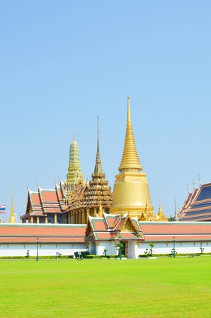 Thai Watprakeaw temple in Thailand  photo