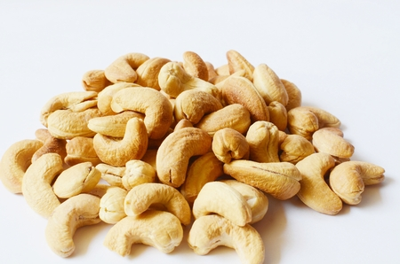 Cashew nuts closeup  photo