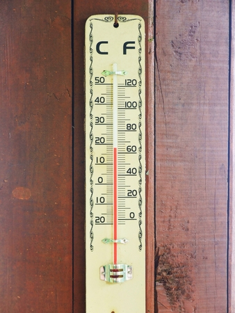 Thermometer for weather photo