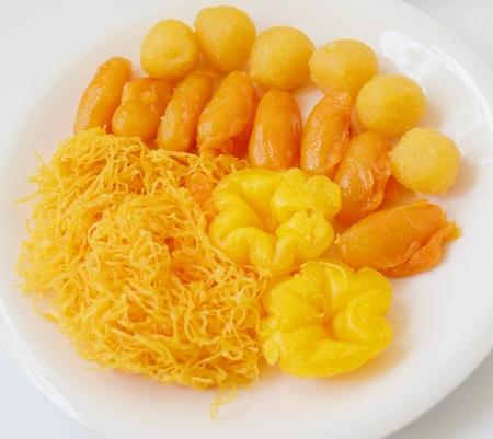 Thai desserts Stock Photo