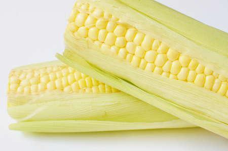 cob: Corn on the cob Stock Photo
