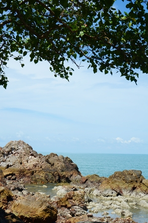 tourquoise: Landscape the sea in Thailand