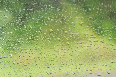 windscreen: Water on windscreen