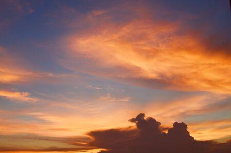 multi national: Sunset  background