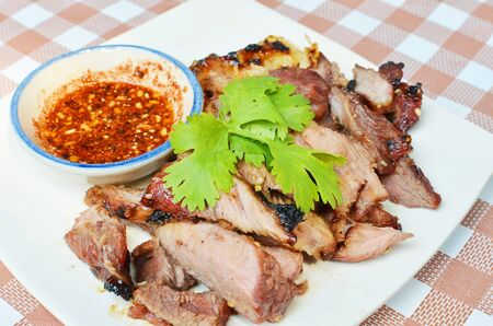 gril: Brisket  roasted Stock Photo