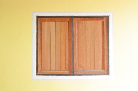 window: Wood Window