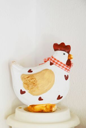 cor: Chicken vintage Stock Photo