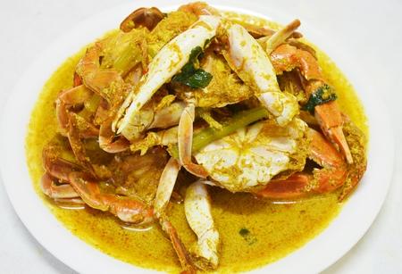 curry powder: Stir-fried crab with curry powder