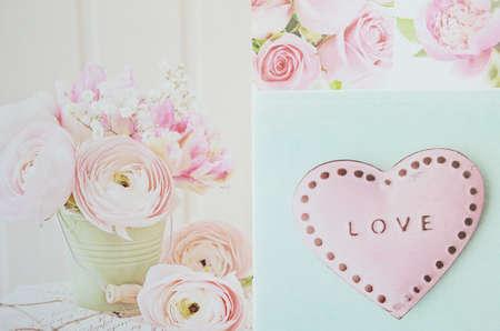 valentine heart: Love Valentine Stock Photo