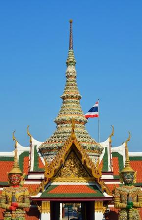 pra: Wat Pra Keaw temple in Thailand