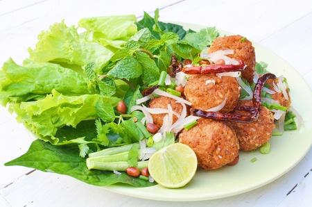fermented: Fermented Pork Spicy Salad