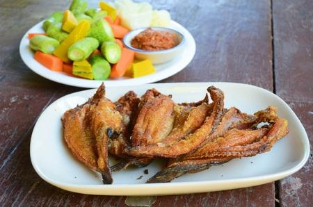 dry fish: Fried dry fish