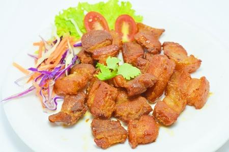 Pork fried