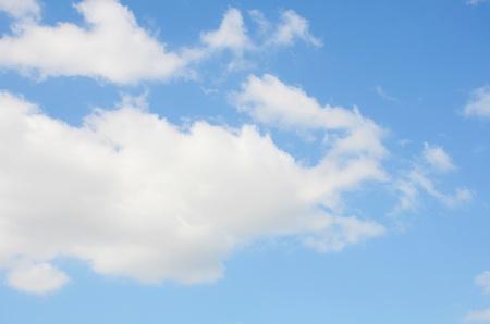 Clound blue sky background