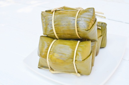 Bananas with Sticky Rice
