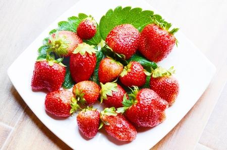 Strawberry fresh Stock Photo