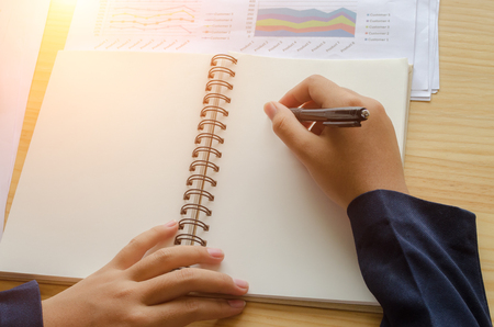business documents with charts growth, phone and pen. workplace businessman.