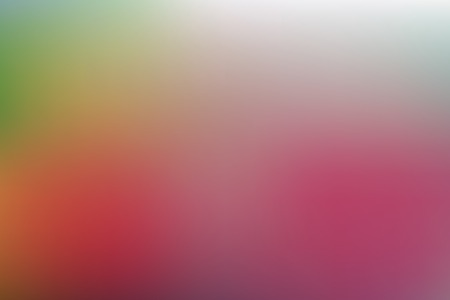 Colorful multi colored gradien de-focused abstract blur background. Ilustração