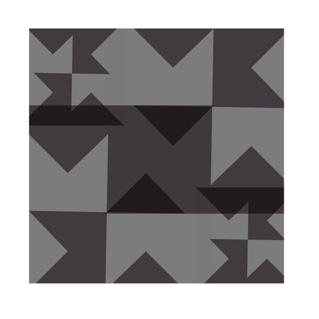 Abstract background consists of black and gray geometric shapes. Way design, banner, web template, vector image