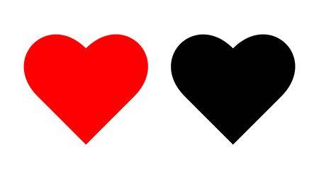Valentines Day Heart vector illustration