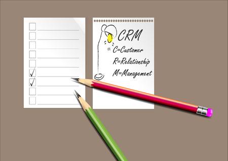relationship management: CRM ,Customer Relationship Management background for background or presentation,Vector illustration