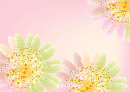 Abstract flowers background light pink watercolor lookvector abstract flowers background light pink watercolor lookvector illustration stock vector 50193771 mightylinksfo