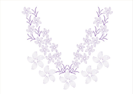 blouses: flower design for collar shirts, shirts, blouses,neck line embroidery graphic designs