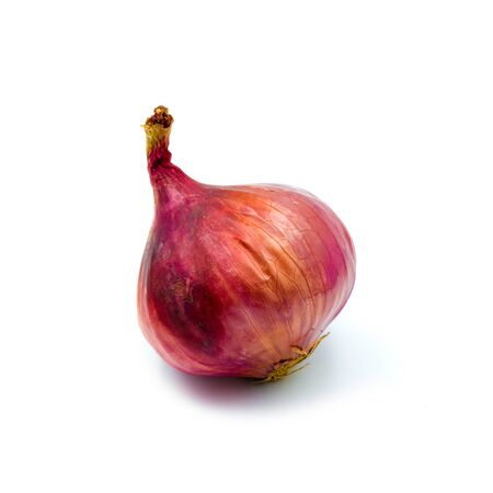 Fresh onion red isolated on the white background. Archivio Fotografico
