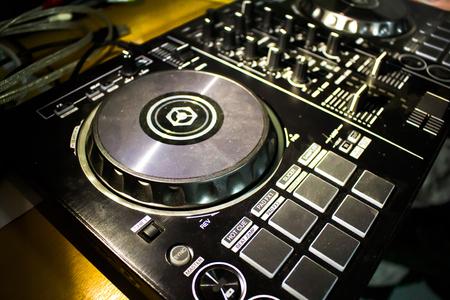 audio mixer: Dj mixer console desk