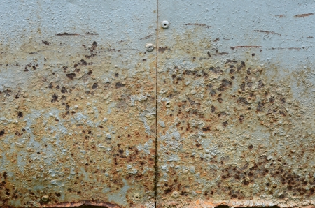 Sheet metal to rust  photo