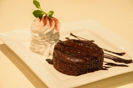 Chocolate lava photo