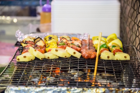 barbecues: Barbecues on the hot stove