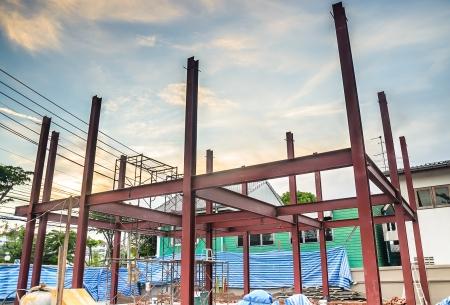 new site: Construction site