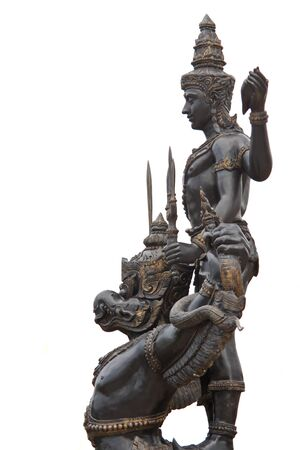 vishnu: Vishnu on garuda of Thailand