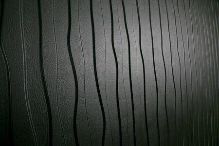 black leather texture background surface or wallpaper .