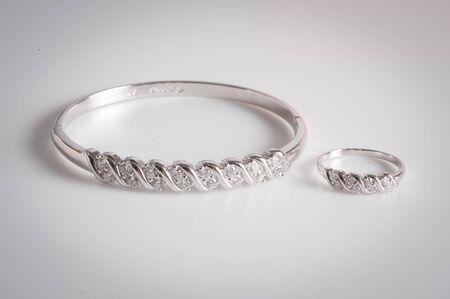 diamond bracelets and diamond ring