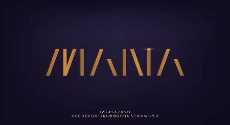 Mana, a modern minimalist sans serif magical elegant alphabet display font. mythical typography design
