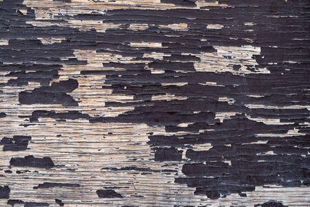 Old peeling painted wood background