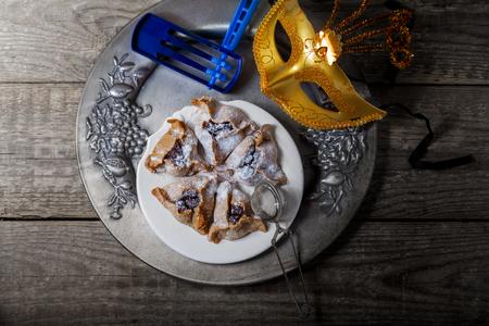 hamantaschen: Jewish Pastry Hamantaschen Stock Photo